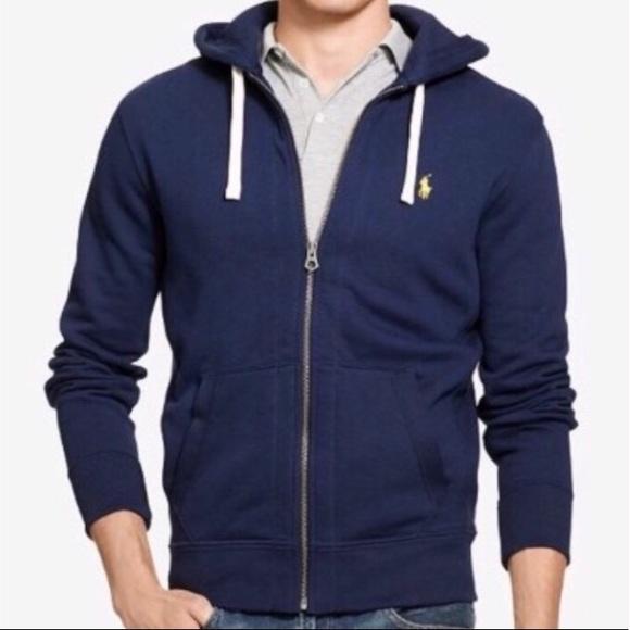 966ea04f2d0 Polo Ralph Lauren hoodie full zip siz large. M 5b45fcac035cf13af8a75f18